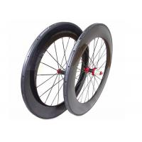 700C Chinese Carbon Road Bike Wheels 88MM With Straight Pull Powerway R36 Hub Manufactures