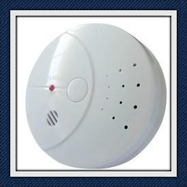 Radio Frequency Wireless Interconnected Smoke Detectors EN14604 Manufactures