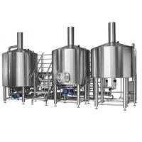 300L European Style Pub Restaurant 2 Vessel Brewhouse Craft Beer Brewing Manufactures