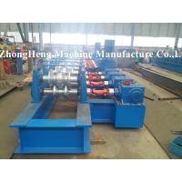 Safty High Way Guardrail Roll Forming Machine / Equipment 380V 3 Phase 50HZ Manufactures
