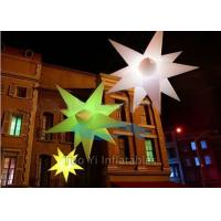 Customized Star Inflatable Stage Decoration LED Christmas Lights Manufactures