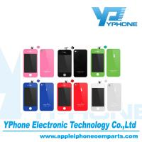 Color Conversion Kits Full Housing Kits LCD Screen Digitizer For Iphone 4g, 4s Manufactures