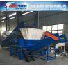 High quality double shaft shredding machine PE PP plastic crusher Plant Waste film crusher shreeder machinery Manufactures