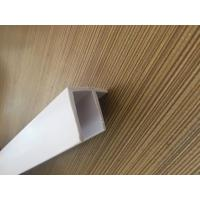 Grain PVC Extrusion Profiles Glossy Surface Finish Low Maintenance Manufactures