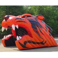 Bearcat Head inflatable Tunnel, Inflatable Sports Tunnal Manufactures