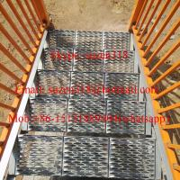 aluminum metal outside exterior stair steps for safety Manufactures