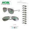 0.72mm TAC Lens Polarized Glasses 3D Eyewear With Metal Frame Manufactures