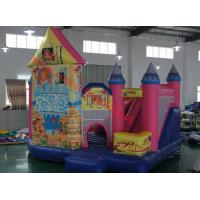 commercial grade inflatable bouncy princess castle for sale cheap indoor trampoline Manufactures