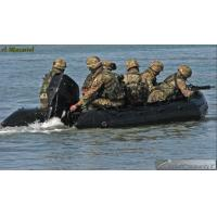 Military PVC 4.3m Hard Bottom Inflatable Boats With CE Approved Manufactures