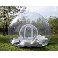 6.5*5*2.8 M Transparent Inflatable Tent Go Outdoors Good Tension Manufactures