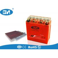 Valve Regulated Sealed Lead Acid Battery 12v , Rechargeable Agm Motorcycle Battery Manufactures
