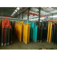 Hang Upside Down Telescopic Cylinder Double Acting Heavy Duty Stoke 16m Manufactures
