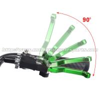 KX 125 250 Motorcycle Brake Adjustable Clutch Lever Aftermarket CNC Billet Dirt Bike Parts Manufactures