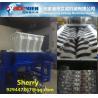 Double shaft shredder Machine waste Tire crusher Plant Waste plastic Shredder tire crusher shreeder machine Manufactures