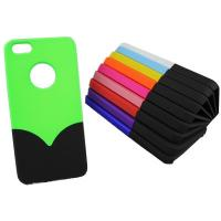 Attractive Iphone 5 Cell Phone Protective Cases In Green / Red Manufactures