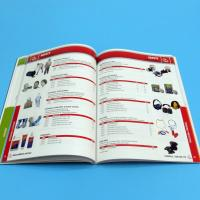 High Quality Professional Catalogue Printing Service 105gsm / 128gsm / 157gsm Manufactures