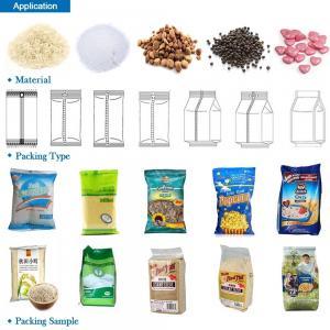 Sugar Sachet Packing Machine , Fertilizer Packing Machine , Automatic Sugar Packing Machine For 1kg Gusseted Bags Manufactures