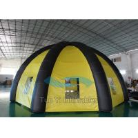 Custom Camping Inflatable Tents , Large Inflatable Spider Tent With 6 Legs Manufactures