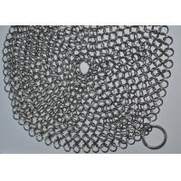 Buy cheap 7X7 Inch 316 Stainless Steel Chainmail Scrubber / Cast Iron Cleaner from wholesalers