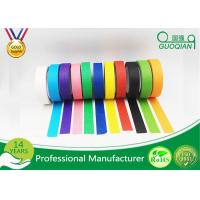 China 3/4, 1, 1.5, And 2 Widths Black Crepe Masking Tape For Automotive / Window on sale