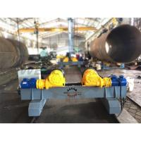 Motorized Moving Fit Up Welding Turning Rolls , Hydraulic Adjustable Wind Tower Rotator Rollers Manufactures