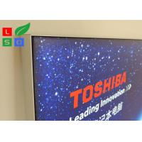 Electric Store LED Textile Light Box ,  Light Guide Plate Backlit Slim Light Box Manufactures