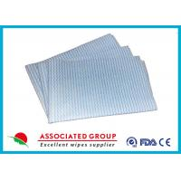 Household Printing Multi Purpose Cleaning Wipes , Disposable Spunlace Nonwoven Wipes Manufactures