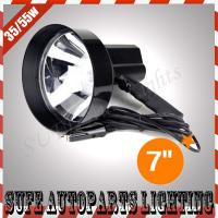 7'' 12v 55w HID handheld Search Light HID Search Light Offroad SUV ATV Truck Lighting Manufactures