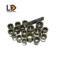 Natural Synthetic Diamond Core Drill Bit , High Durability Diamond Coated Drill Bit Manufactures