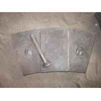 OEM High Chrome White Iron Mill Liners with Bolts Inspected by Visual and UT Test Manufactures