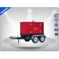 Three Phase Mobile Type Silent Diesel Generator Set 350kw Electrical Manufactures