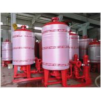 Stainless Steel 304 / 316 Diaphragm Water System Pressure Tank With Polishing Treatment Manufactures