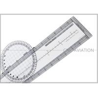 Durable Plastic Pilot Flight Ultimate Rotating Plotter with Nautical-statute Conversion Scale # CP-R Manufactures