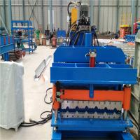 Auto control control system glazed metal roof tile manufacturing forming machine