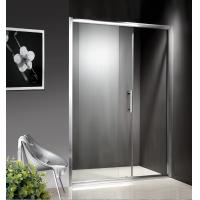 1200-1800X1950mm Replacement Sliding Glass Shower Doors , Shower Cubicle Doors With Double Wheels Manufactures