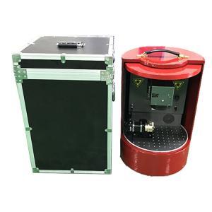 Micro Fiber Laser Marking Machine , 10W - 50 Wattage Portable Laser Marker Manufactures
