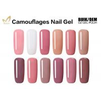 High Gloss Finish Camouflage Nail Gel For Gel Nails No Fade No Smudging Manufactures