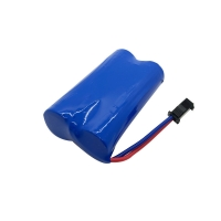 1200mAh Rechargeable 7.4 V 18650 Battery Pack For Massager Manufactures