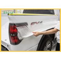 Automotive Spray Protective Car Painting Protection Masking Film Manufactures