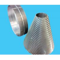 STAINLESS STEEL ROTARY DRUM SCREENS / WEDGE WIRE JOHNSON CYLINDRICAL SCREENS  /FILTER DRUM FOR WASTE TREATMENT EQUIPMENT Manufactures