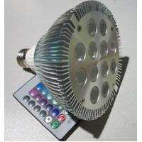 RGB color spotlight LED PAR38 12W Manufactures