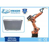 CNC Automatic Welding Robot for Car Radiator Seam Welding , Industrial Robotic Arm Manufactures