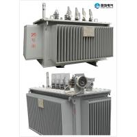 6.6 KV - 250 KVA Oil Immersed Transformer Oil Cooled Transformers Safety Manufactures