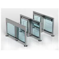 Stainless Steel Swing Barrier Gate IR Sensor Pedestrian Access Turnstiles Manufactures