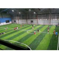 Buy cheap Smooth Economy 12000 Dtex Fake Turf Grass / Artificial Grass Football from wholesalers