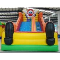 Giant Dry Inflatable Sports Game , Slide Combo Games Customized Manufactures