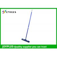Commercial Floor Squeegee , Rubber Floor Squeegee With Handle Customized Color Manufactures
