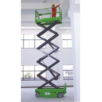 4 x 2 Driving  Self Propelled Scissor Lift ,2.43m x 1.15m x 1.91m with 10m platform height Manufactures