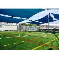 Durable Surface Outdoor Artificial Grass , Low Friction Indoor Soccer Artificial Turf Manufactures