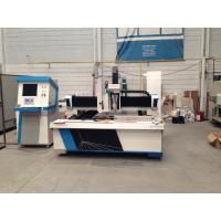 Metal sheet processing fiber CNC Laser Cutting Equipment 800W with dual drive Manufactures